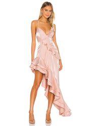 Lovers + Friends Riya Gown - Pink