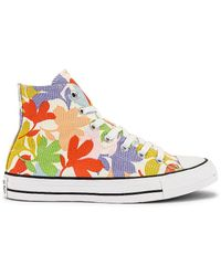 Converse - Chuck Taylor All Star Garden Party All-over Print スニーカー. Size 6, 6.5, 7.5, 8, 9.5, 10. - Lyst