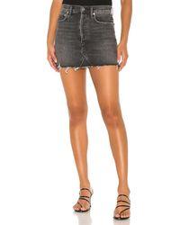 Agolde Quinn ミニスカート. Size 26. - マルチカラー