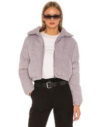 superdown Kora Puffer Jacket - Grey