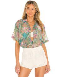 Hemant & Nandita Xari Oversized Shirt - Multicolour