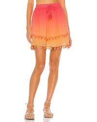 MAJORELLE Calypso Skirt - Orange