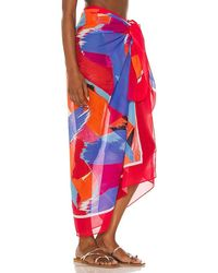 Seafolly Arthouse Pareo - Red