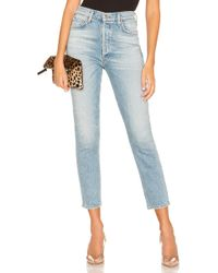 Citizens of Humanity - Olivia Crop High Rise Slim - Lyst