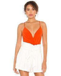 Astr Anissa Bodysuit - Orange