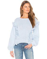 Tularosa - Ruffle Sweater - Lyst