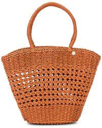 Seafolly Woven Basket Bag - Multicolour