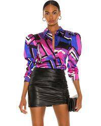retroféte Sutton Shirt - Purple