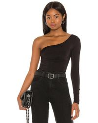 h:ours Leslie top - Negro