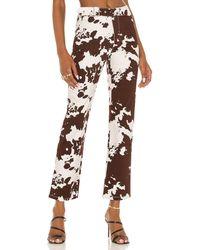 Miaou Брюки Lou В Цвете Cow - Многоцветный
