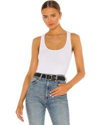 RE/DONE Camiseta tirantes 90s - Blanco