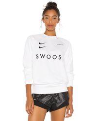 Nike Swoosh クルー - ホワイト