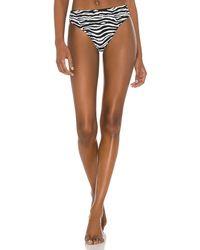 Solid & Striped Brody Bikini Bottom - Brown