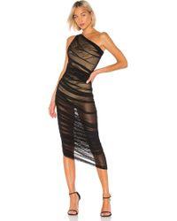 Norma Kamali Diana ドレス - ブラック