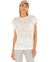 Varley Virden T-shirt - Natural