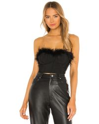 superdown Ramona Bustier Top - Schwarz