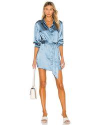 L'academie Marta Shirt Dress - Blue