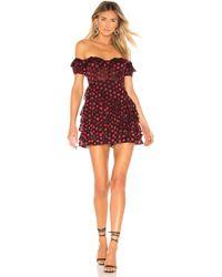 Lovers + Friends - Blythe Mini Dress - Lyst