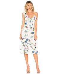 House of Harlow 1960 - X Revolve Raina Dress In Cream - Lyst