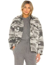 AllSaints Куртка Fenix В Цвете Серый Мрамор
