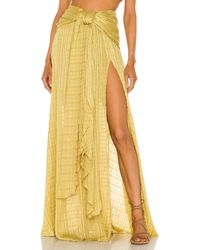 Bronx and Banco Sydney Skirt - Yellow