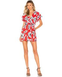 Marissa Webb Luciano Mini Dress - Rot