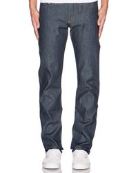 Naked & Famous - Weird Guy Dirty Fade Selvedge 14.5oz.. Size 29. - Lyst