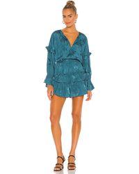 MISA Los Angles Amalya Dress - Blau