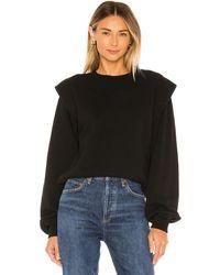 Agolde 80's Sweatshirt - Black
