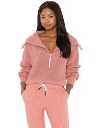 Varley Пуловер Mentone В Цвете Пепельный Розовый