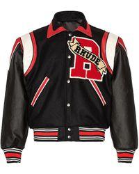 Rhude Varsity ジャケット - ブラック