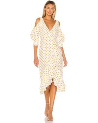 House of Harlow 1960 Ginger ドレス - ホワイト