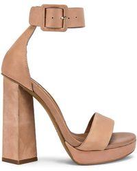 d7d385167dd Lyst - Steve Madden Bodhi Platform Ankle Strap Sandal