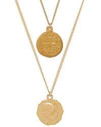 Joolz by Martha Calvo Warrior Coin Set - Metallic