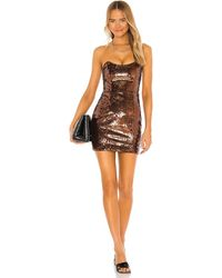 Camila Coelho Renato Mini Dress - Brown