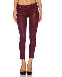 Lovers + Friends Ricky Skinny Jean - Red