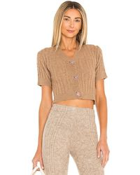 Tach Clothing Kira Cardigan - Brown