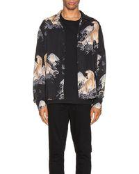 AllSaints Kayan ロングスリーブボタンアップシャツ - ブラック
