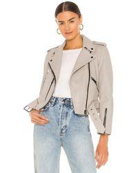 AllSaints Куртка Balfern В Цвете Цементный Серый