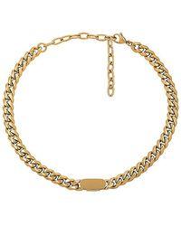 Amber Sceats - Teegan Collar Necklace In Metallic Gold. - Lyst