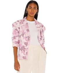 Tularosa Tate Quilted Jacket - Pink