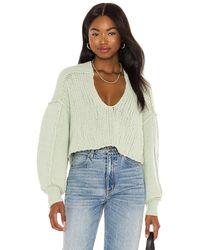Free People Sea Bright Pullover - Grün
