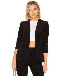 FRAME - Fine Variegated Blazer In Black - Lyst