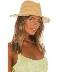 Hat Attack Fringe Travel Hat - Braun
