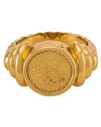 Amber Sceats Кольцо Morgan В Цвете Золотой - Металлик