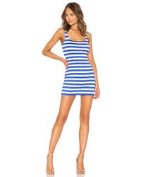 Susana Monaco - X Revolve Low Back Tank 16 Dress In Blue - Lyst