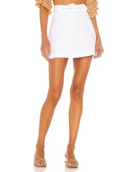 Faithfull The Brand Celia Skort - White