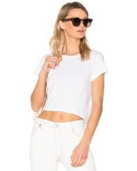 RE/DONE 1950's ボクシーtシャツ - ホワイト