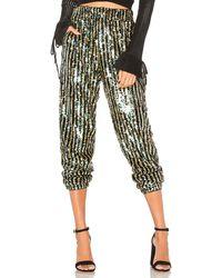 Tularosa Pantalones de lentejuelas cara - Multicolor