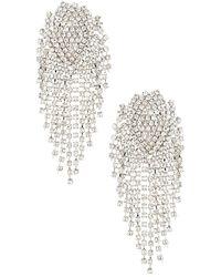 Shashi Royal Queen Earring - Mettallic